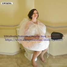 Free Shipping Gather Skirt Slip Bridal Buddy Petticoat Underskirt Save Your Wedding Dress From Toilet Water Wedding Accessories