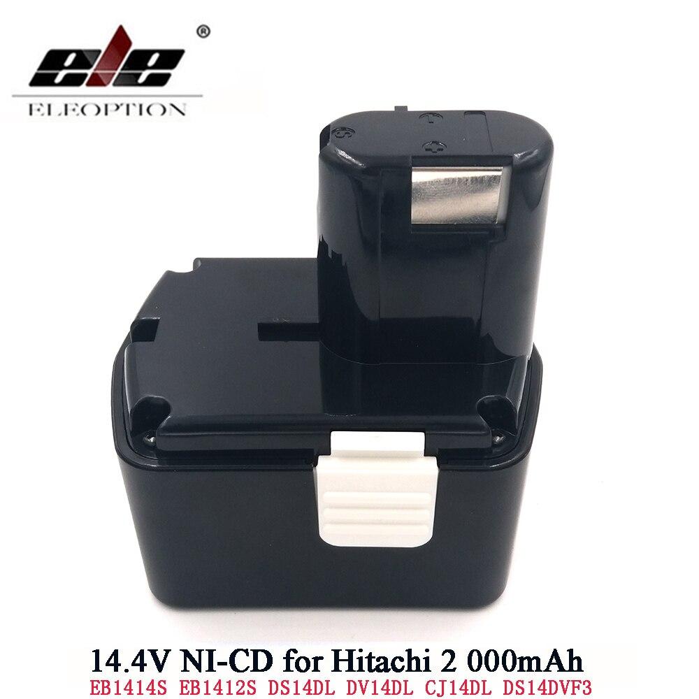 For Hitachi Battery 14.4V 2000mAh NI-CD EB1414S EB14B EB1412S 324367 EB14S DS14DL DV14DL CJ14DL DS14DVF3 battery for hitachiFor Hitachi Battery 14.4V 2000mAh NI-CD EB1414S EB14B EB1412S 324367 EB14S DS14DL DV14DL CJ14DL DS14DVF3 battery for hitachi