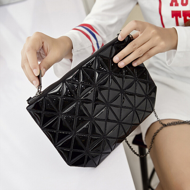 Fashion geometric concept women small shoulder bag Issey female chain designer bags for girls purse sac a main femme de marque