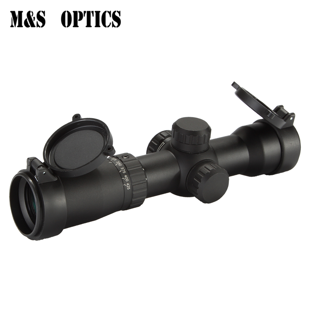 Optique Vue 1.5-5X32 IRG Airsoft Gun Pistolet Air Métal Mini Arbalète Pistolet de Tir de Chasse Scopes Collimateur vue