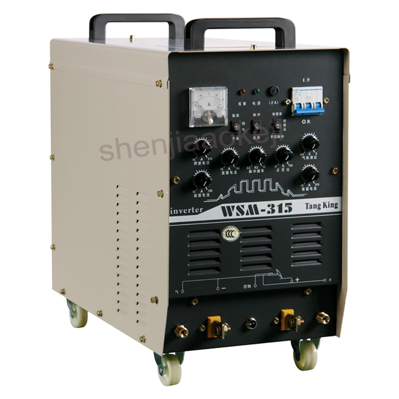 IP21S Shell protection class Inverter DC pulse argon arc welding machine WSM-315 carbon dioxide welding and argon arc welder 1PC free delivery 9225 inverter argon arc welding machine cooling fan small fan 92 92 25mm dc24v copper motor