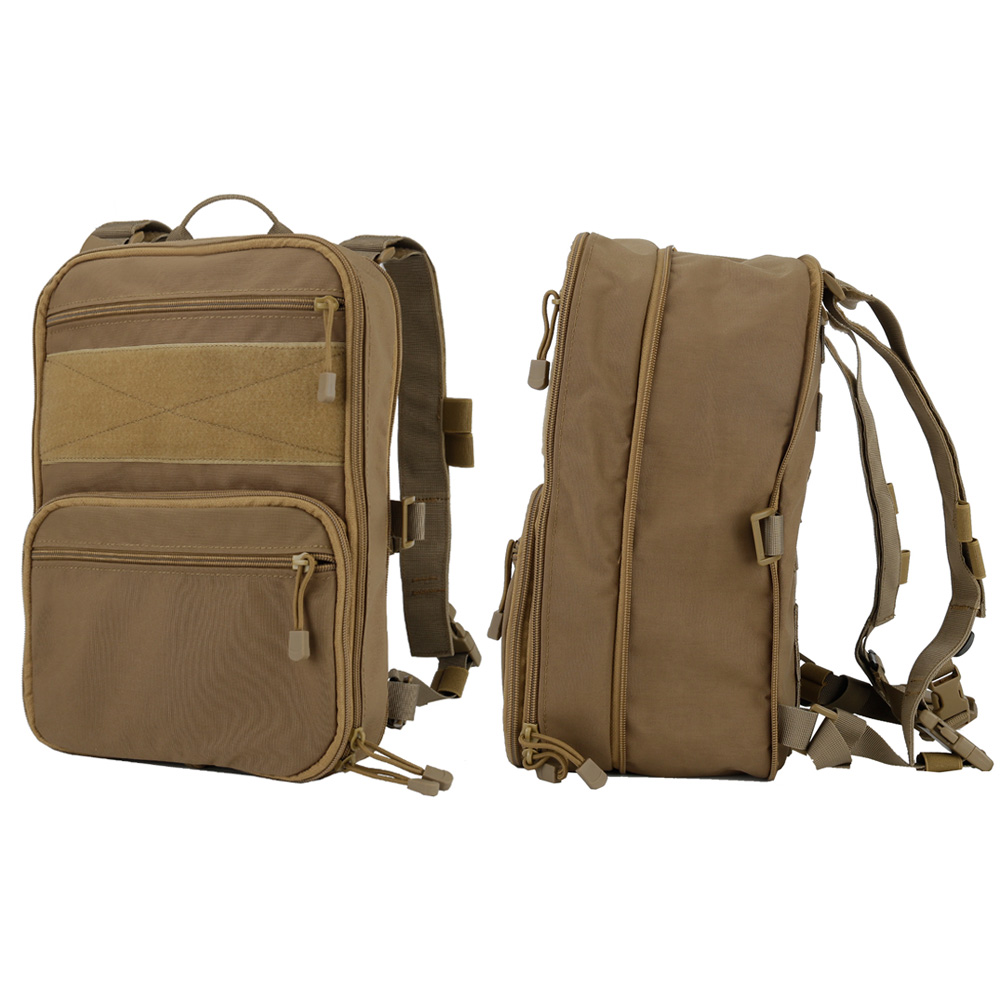 Тактический рюкзак камуфляжная Сумка военный рюкзак сумка переменной емкости для спорта кемпинга Пешие прогулки Рыбалка Охота - 3
