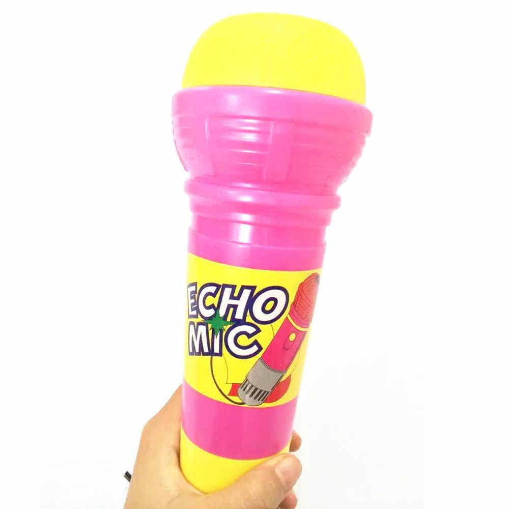 Ishowtiendecho Mikrofon MIC Voice Changer Hadiah Mainan Hadiah Ulang Tahun Pesta Anak Lagu Oyuncak Lucu Gadget Mainan Yang Menarik