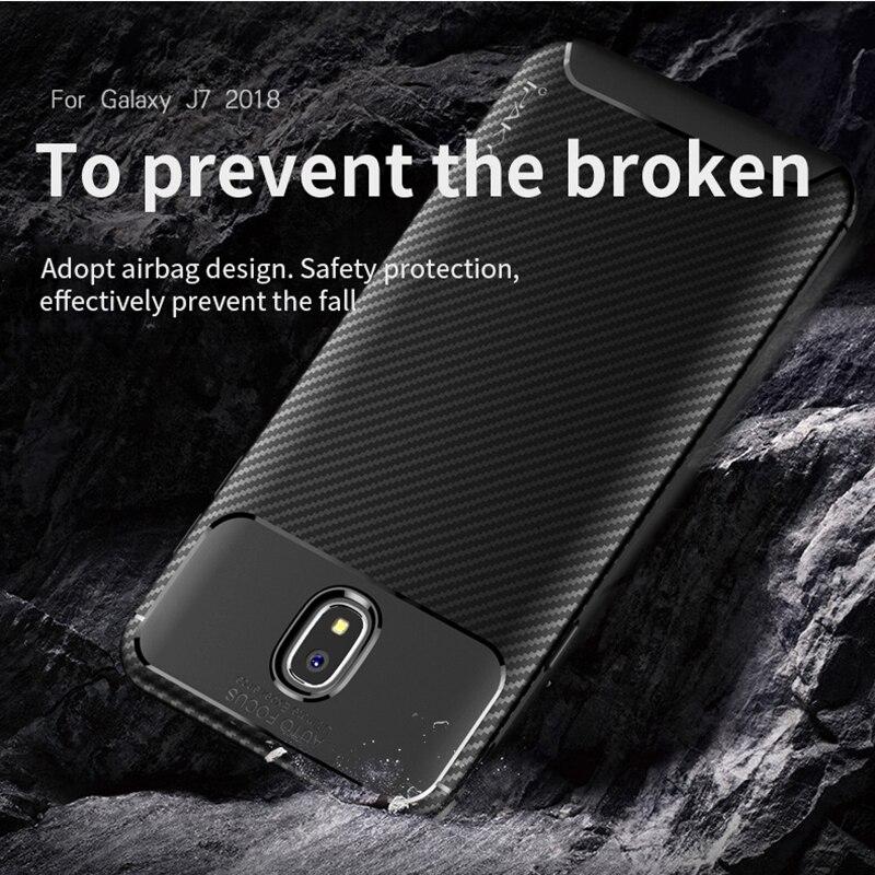 för Samsung J3 J4 2018 Väska IPAKY J6 J7 2018 Väska Silikon TPU - Reservdelar och tillbehör för mobiltelefoner - Foto 4