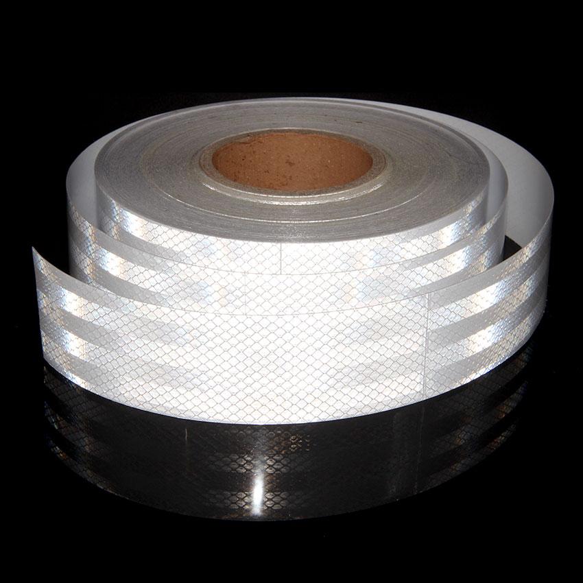 5 см X 9 м светоотражающие ленты наклейки на мото самоклеящаяся лента красный, белый желтый флуоресцентный виниловые наклейки ленты для авто...