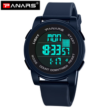 Get more info on the PANARS Digital Watch LED Digital Wristwatches Men Wrist Waterproof Watch Sport Watches Multiple Time Zone Display Men's Watches