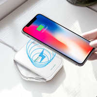 NILLKIN Qi Wireless Charger fast For Samsung Galaxy S10/S9/S8/S8 Plus/Note 8 for iPhone XS/XR/X/8/8 Plus charging pad portable