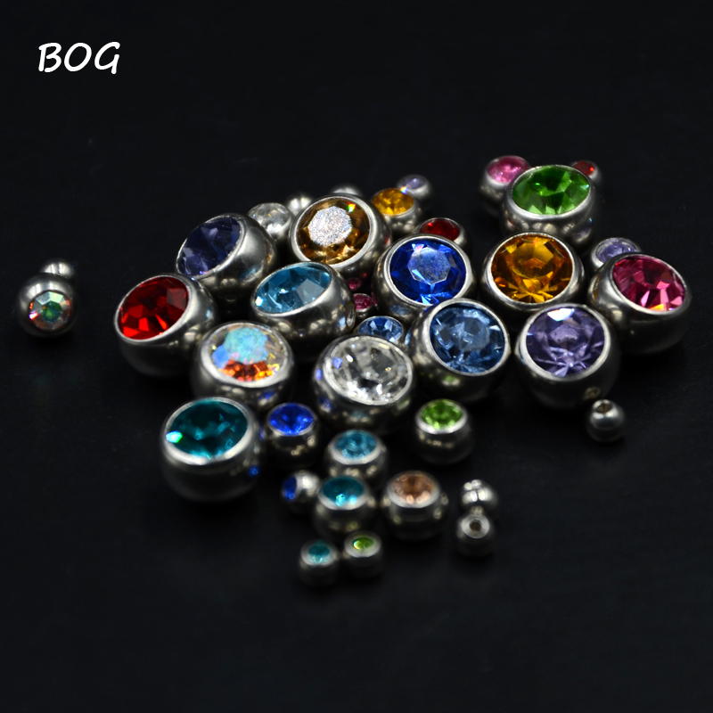 12Pcs Stainless Steel CZ...