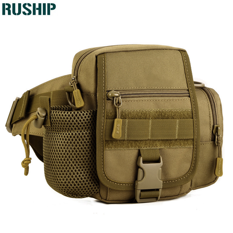 Outdoor sports Tactics kettle Waist Pack Waterproof Fanny Pack Belt Bag Sling Shoulder Messenger hunting waist bag outdoor sports double shoulder bag student bag computer bag waterproof pack free shipping