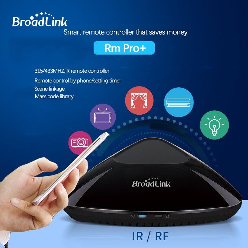 Broadlink RM mini3/RM3 Pro+/Home Automation WIFI/IR/RF Universal  Controller,EU SP3S wifi timer socket plug app remote control