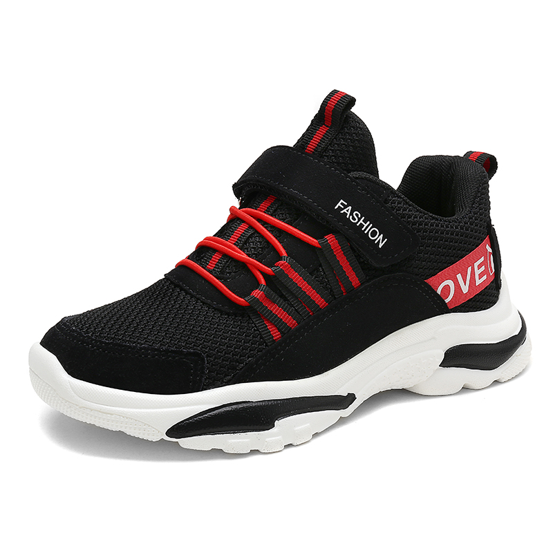 Boys Net Shoes Children's Shoes Summer Big Boy 2019 New Sports Shoes Boys Mesh Breathable Running Shoes