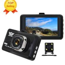 ANSTAR HD 1080 P 3′ Автомобильный видеорегистратор Камера Двойной объектив видео Регистраторы автомобиля Камера регистраторы Автомобильные видеорегистраторы Blackbox Dashcam автомобиля монитор