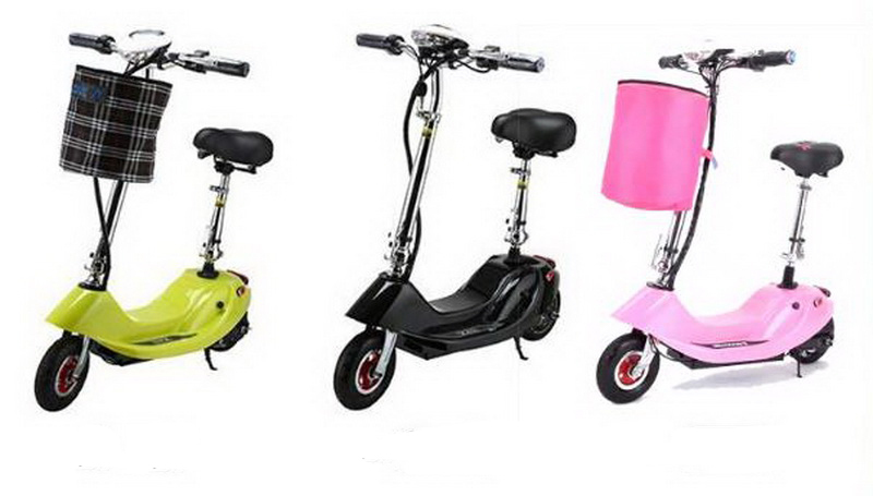 Sale 261002/Ladies portable mini dolphin electric scooter / can carry children electric bikes / electric cars/Comfortable cushion 14