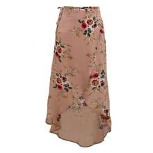 Boho Style Irregular Skirt