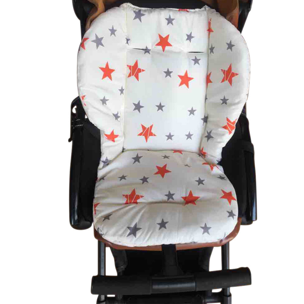 Hot 2016 New Thick Warm Waterproof Cotton Newborn Cute Cartoon Baby Stroller Seat Pad Baby Stroller Accessories Chair Cushion Mother & Kids Strollers Accessories