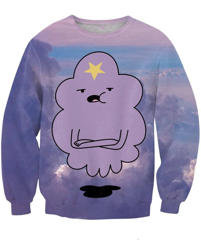 New arrival Lumpy Space Princess Sweatshirt funny 3D sweatshirt Unisex casual tops spring winter top Unisex jumper