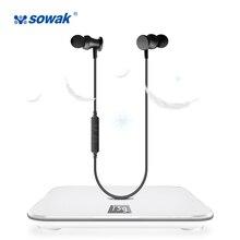 AirPods Sowak S2 Estéreo Bluetooth Handfree Fones De Ouvido Esporte fone de Ouvido Sem Fio Fones De Ouvido para o telefone