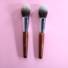 1PCS Big Powder Soft Synthetic Hair Highlight Single Makeup Brushes Wood Handle Professional Makeup Brushes YA136