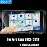 Car Navigation Tempered Glass Screen Protector Steel Portective Film For Ford Kuga 2013 2014 2015 2016 2017 2018 Car Styling