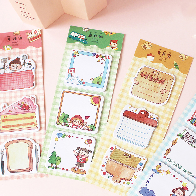 Memo Pads Sticky Notes 50 Sheers Diy Planner Memo Notes Notepad Desk Agenda Gift School Office Supplies Do You Want To Buy Some Chinese Native Produce? Office & School Supplies
