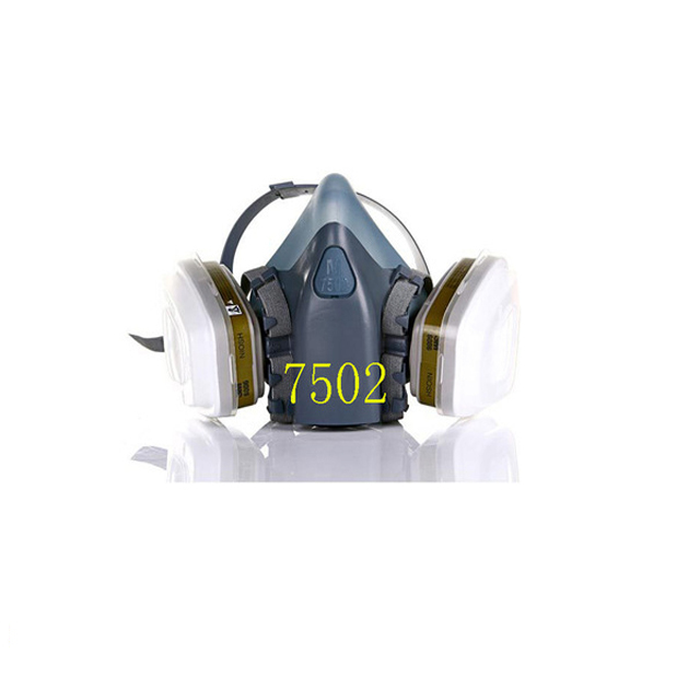 Promotion 7502 7Suits Half Gas Mask Respirator Pesticide/ Painting/Spray Chemical Dust Filter Breathe Mask