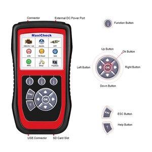 Image 4 - 2021 Autel MaxiCheck Pro OBD2 ScannerCar herramienta de diagnóstico EPB ABS SRS Airbag DPF escáner de código