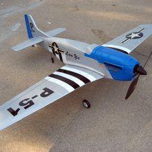Подробные сведения о 4Ch Радио пульт дистанционного управления Самолет Mustang P51 Warbird EP RC Самолет RTF