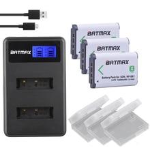 Baterias plus Lcd para Sony 3X Bateria Np-bx1 Npbx1 NP Bx1 Carregador Dsc As100v Rx1 Rx100 M3 M2 Hx50 Hx300 Hx400 Hx60 Gwp88 As15 Wx350