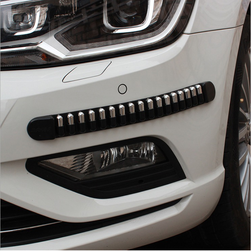 4 PCS Car Stickers Bullet Anti-collision Protector Garaje Scratching- Proof Car Styling Exterior Accessory for Benz Amg Ford Kia