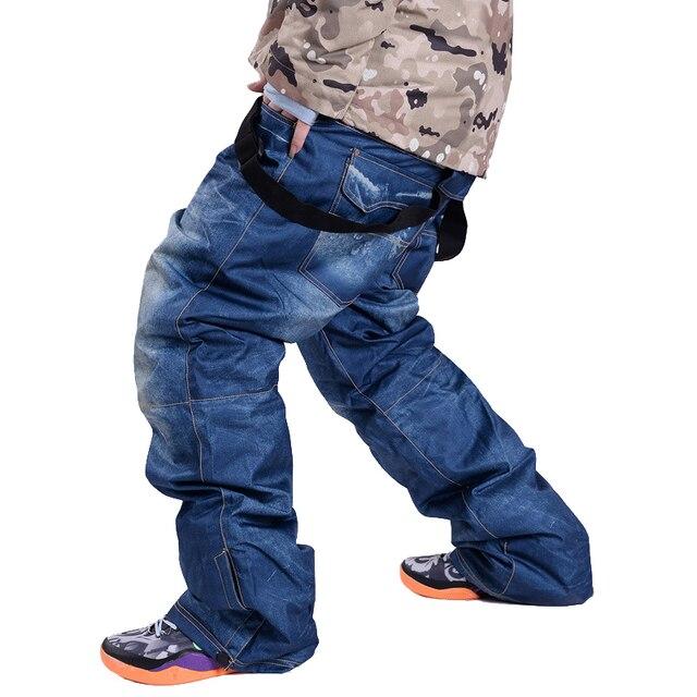 De Vente Denim Pantalon Jean Nouveau Chaude Snowboard Bretelles qqFwIvr6Ox