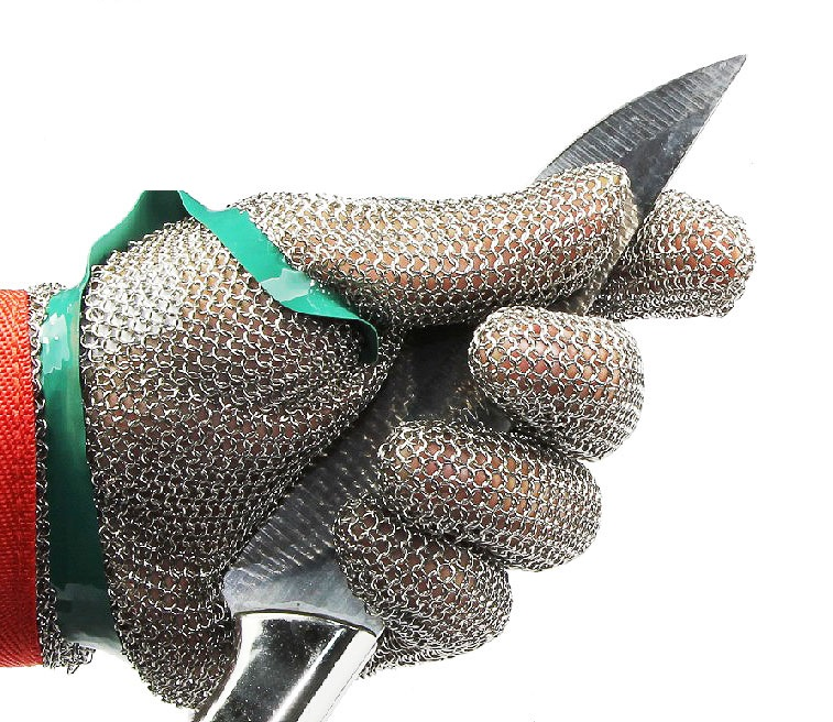Wire gloves cut resistant gloves labor supplies anti- E Chainsaw international labor migration