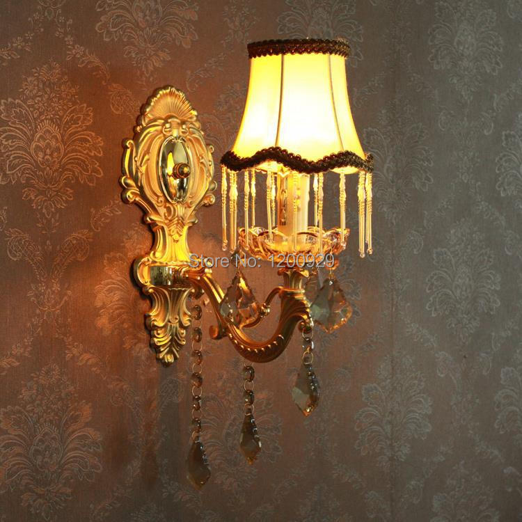 Free Shipping Luxury European Wall Lamp Crystal Lighting Decoration for Hallway/Bedroom/Living Room WLL-92 сумка pieces pieces pi752bwzwl07