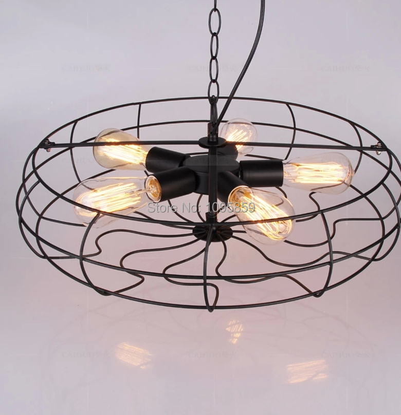 Vintage retro 5 heads metal fan pendant light lamp black color dining room ceiling fixtures - Spectacular modern pendant lighting fixtures as center of attention ...
