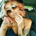 2016 Sexy ! Pastel Pink Ombre Short Bob Haircut Cute Wavy Middle Part Bob Lace Front Wigs Heat Resistant Lace Wig Synthetic Bob