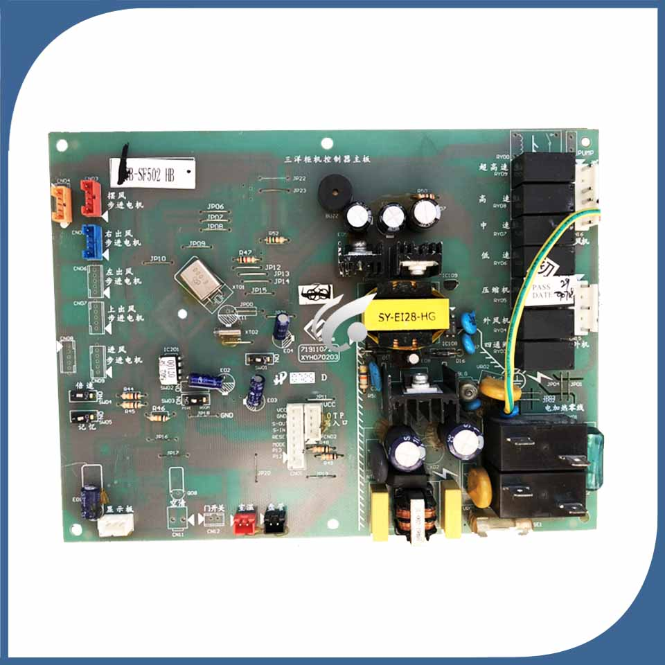 good working for Air conditioner board CB-SF502HB 719110724 XYH070203 used boardgood working for Air conditioner board CB-SF502HB 719110724 XYH070203 used board