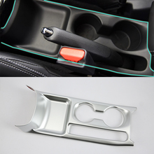 ABS Auto Styling Matte Style Left front water cup cover For Nissan 17 KICKS car accessories