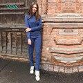 TAOVK diseño moda de nueva Rusia estilo de Primavera y Otoño de Las Mujeres Chándales
