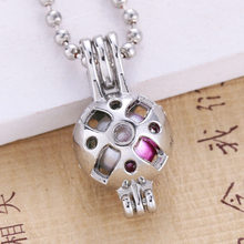 6pcs Bright Silver Hollow ออกแบบ(China)