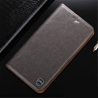 PALUNI For Xiaomi Redmi 4 4Pro Case Crazy Horse Genuine Leather Wallet Case Flip Cover For