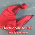 Electric Silk to Ball - Quick Speed (Red) - magic tricks,stage,accessories,magic prop,illusion,gimmick,scarves