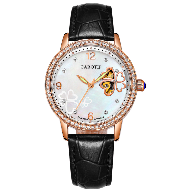 Carotif Fashion automatische mechanische horloges dames - Dameshorloges - Foto 5