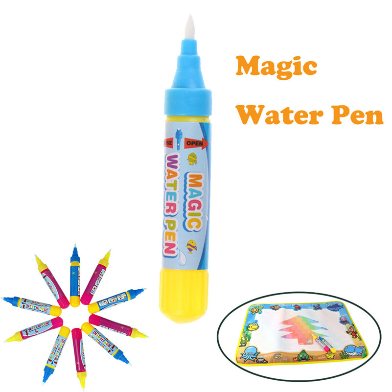 Magic Water Drawing Pen Painting Doodle For Water Mat Board Kids Education  Educational Board Toy For Baby Girl Boy Children A1