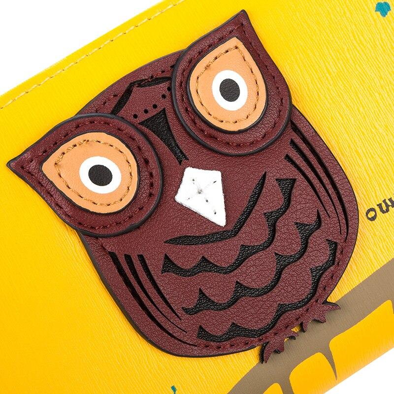couro da coruja dos desenhos Modelo Número : Ywnb3911