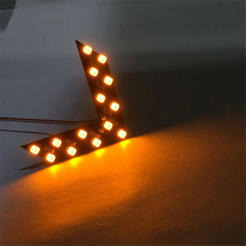 14 SMD LED Arrow Panel For Car Rear View Mirror Indicator Turn Signal Light in Indicator Lights from Lights Lighting