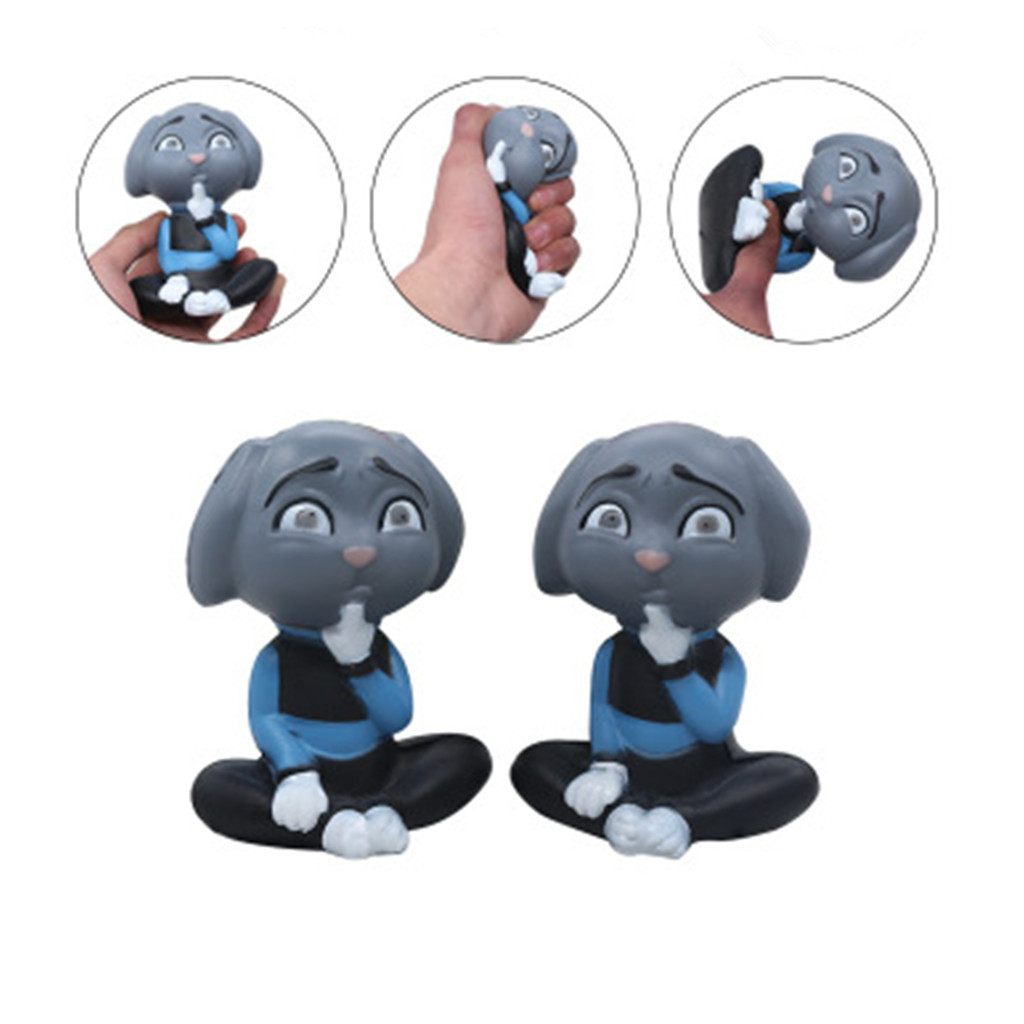 Stress Reliever Squeeze Toy Simulated Cute Dog Scented Slow Rising Kids Squeezable Toy Silicone Squishy Scuishies Blandos W516