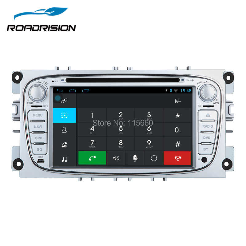 ... RoadRision Android 6.0 2 Din 7 Inch Car DVD Player For FORD Mondeo S-  ... 8260fecb8dea