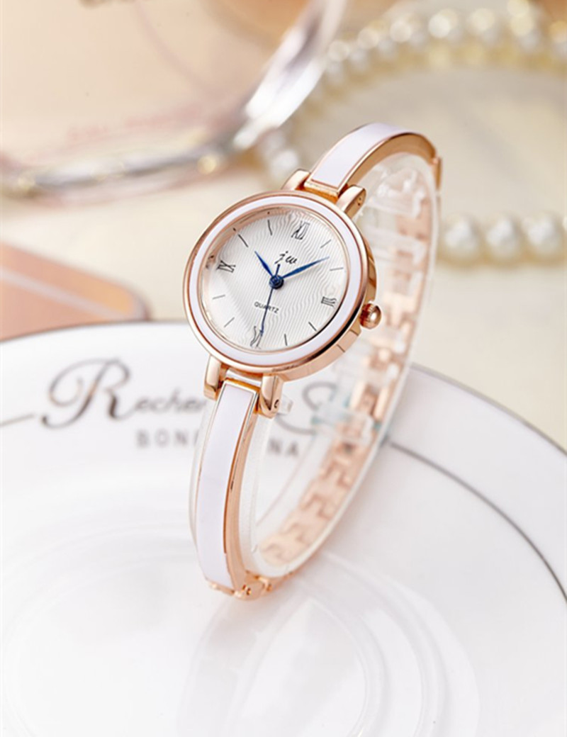 Bracelet Watches Women Top Brand JW Luxury Stainless Steel Quartz Watch For Women Dress Wristwatches hours female Fashion Clock 2017 new hot kimio women s brand watches stainless steel fashion quartz bracelet wristwatches women lady dress watch clocks