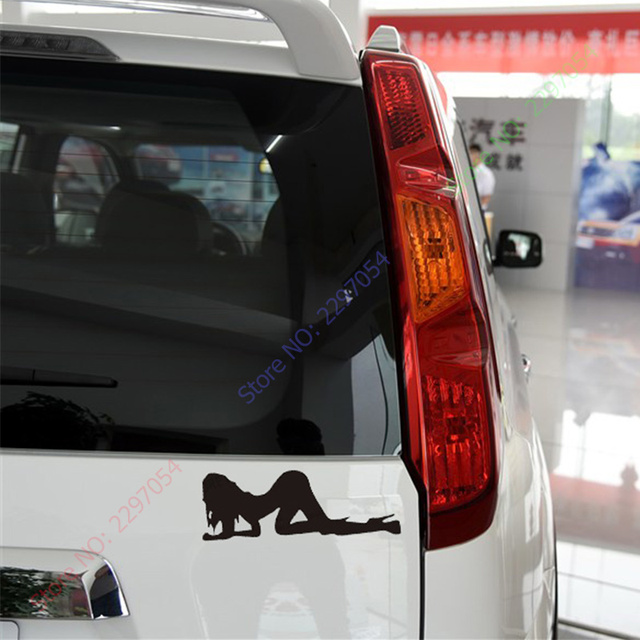 Naughty angel devil decal sexy girls reflective vinyl sticker top quality decals and stickers for your