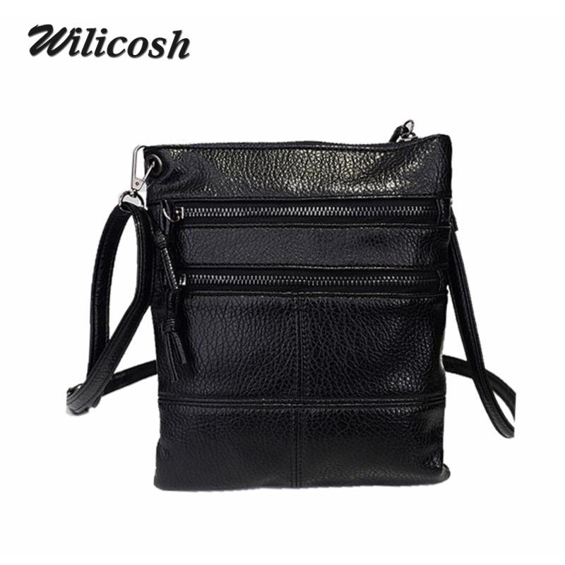 64b9a927b38c 2016 New Fashion Pu Women Leather Mini Handbags Crossbody Bags For Women  Casual Shoulder Messenger Bag Ladies Small Flap DB5538-in Crossbody Bags  from ...