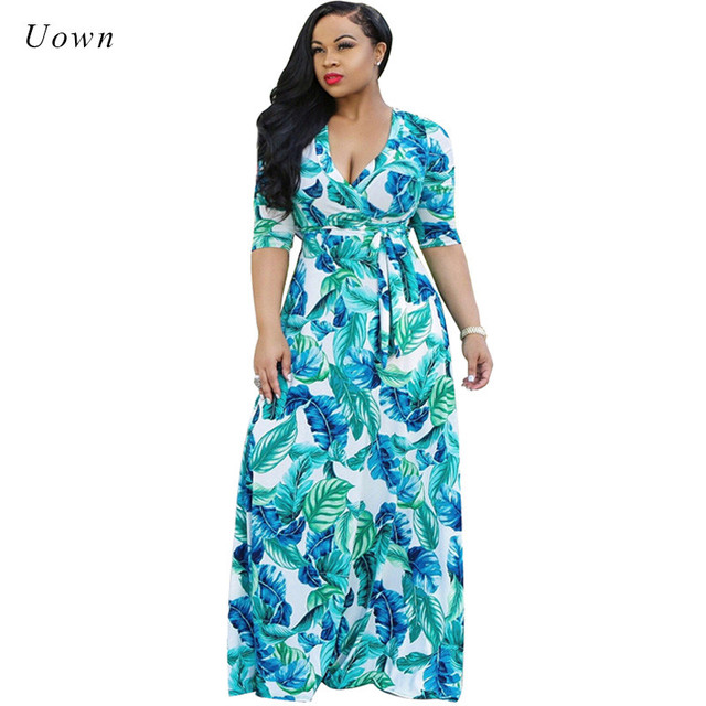 Empire waist maxi dress for women